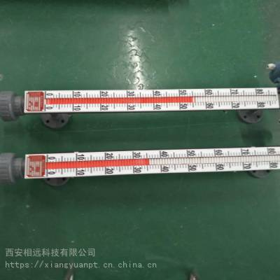 甘肃侧装顶装磁性浮子翻柱液位计PP防腐远传液位计