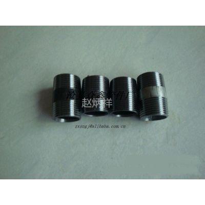 长期供应美标碳钢活接头 焊接管外丝 无缝外丝 镀锌外丝