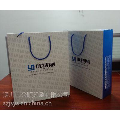 深圳宝安印刷厂家定做企业手提纸袋