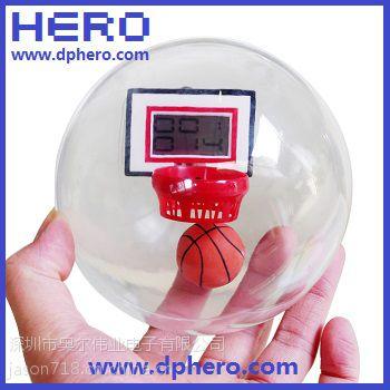 供应账上篮球机语音IC音乐篮球机机芯HR