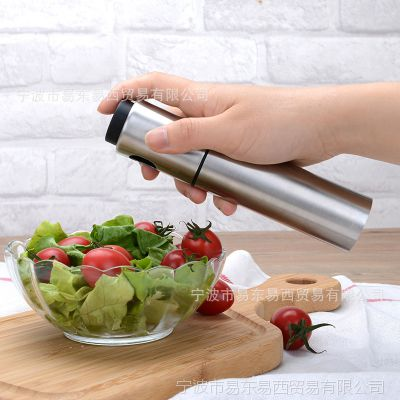 不锈钢烧烤喷油壶 高档防漏醋瓶罐厨房煎炒食用油喷雾器