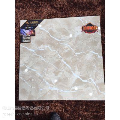 佛山艾菲顿瓷砖供应工程砖加白加厚丝绸之路拋光砖800*800