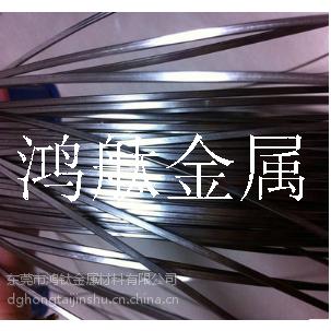 304不锈钢电解中硬线 可定尺调直切断 压扁线加工