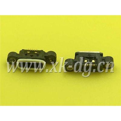 东莞星坤XKB MICRO USB母座,全塑防水MICRO插座高端 防水