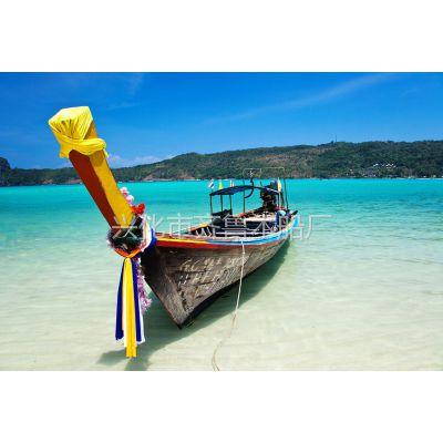东南亚风格装饰船 室内景观船定做厂家
