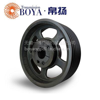 浙江电机皮带轮生产spz95-06选无锡帛扬锥套皮带轮厂家