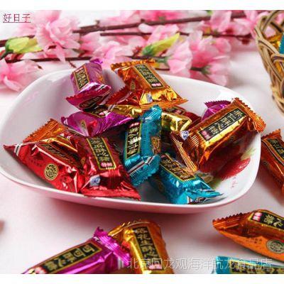 正品徐福记酥心糖 喜糖 酥糖散装混合味500g散称批发