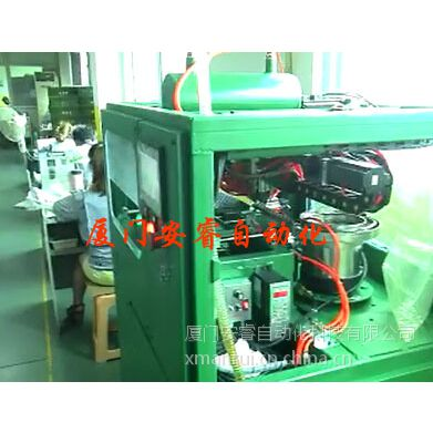 ARKJ自动摆盘机/吧电子产品五金小产品摆放塑料托盘中