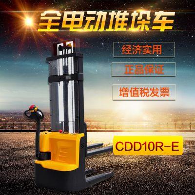 西林CDD10R-E电动叉车 电动托盘堆垛车1吨