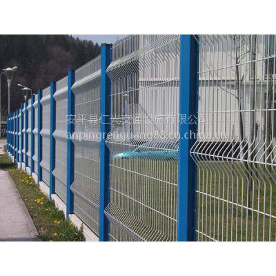 仁光供应低碳钢丝三角折弯护栏网