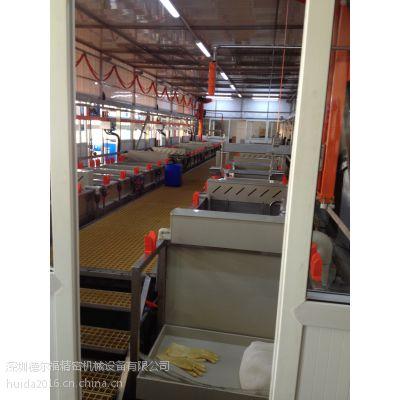供应深圳德尔福全自动单臂电镀设备滚镀生产线