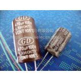 供应高温度 105°c低阻抗铝电解电容·耐高温低阻抗铝电解. GD电容