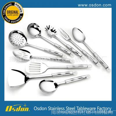原单出口 不锈钢厨具 勺铲套装 厨具7件套