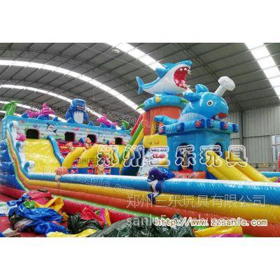 山东省临沂市大型充气玩具,充气蹦床现货批发