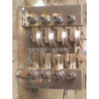 供应金华铝材厂出售变方扎眼一次成型机设备(4支)