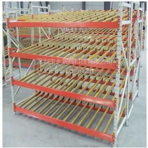 深圳流璃货架 先进先出货架订做 流利式货架厂