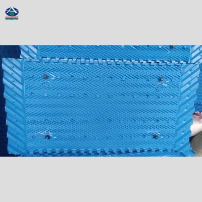 高吕质冷却塔PP点波带收水器片填料 河北华强13785867526