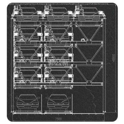 供应智能小区立体车库 地上五层 3车位变11车位 盛茂永代机械