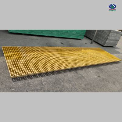 洗车房玻璃钢格栅|洗车店地沟盖板|养殖玻璃钢网格板