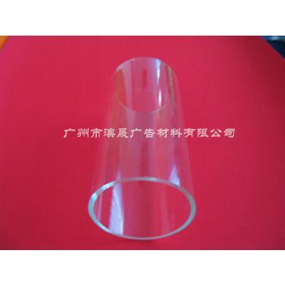 广东工程生产塑料管 装饰装修用 亚克力透明管颜色 定做