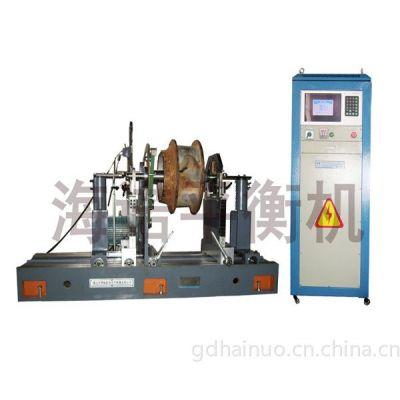 供应YYQ-160水泵叶轮电机转子皮带轮海诺研发通用平衡机