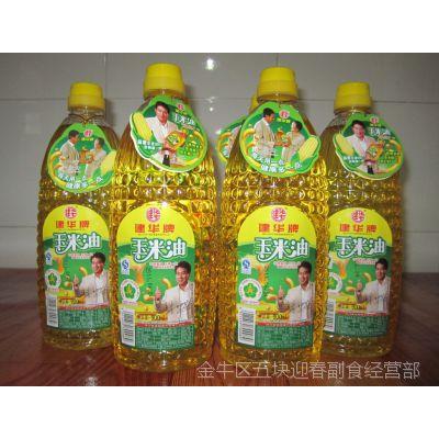 四川特产川菜家居佐料 建华香油非转基因压榨一级胚芽玉米油900ml
