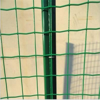 【现货销售】养野兔铁丝网围栏&简易好安装圈地铁丝网&方孔绿色卷网