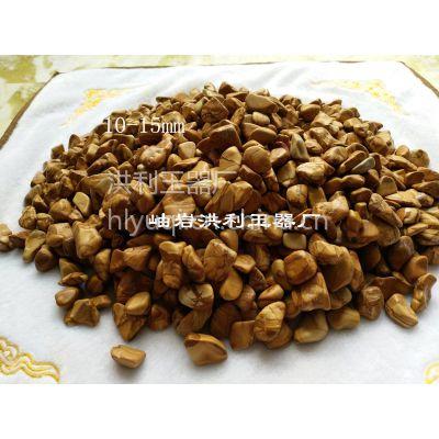 洪利玉器厂木纹石卵石