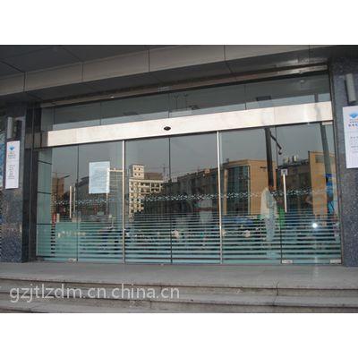 荔城安装自动玻璃门,派潭止摆器18027235186