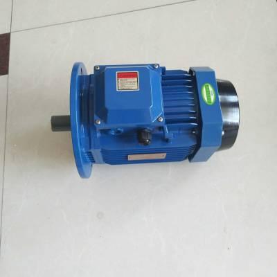 流行新款铝壳蓝色三相异步电动机YS8024-0.75KW/B5大量供应