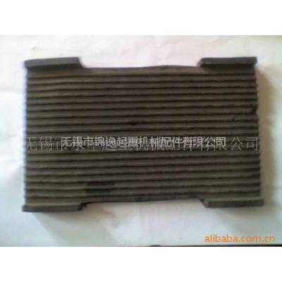 供应起重 道轨 配件 复合橡胶垫 长胶垫 小方胶垫