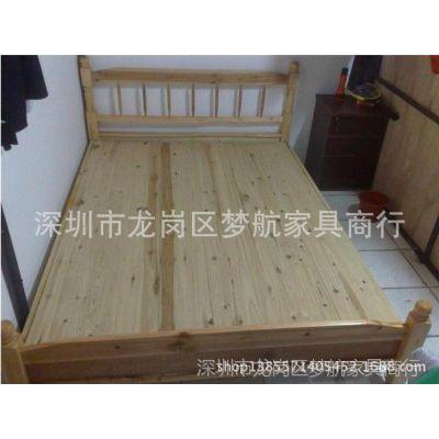 2014年厂家供应员工宿舍家具 实木学生床公寓床宿舍床双人单层床