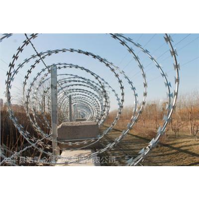 供应洁霖刺丝滚笼|刀刺滚笼|铁路高铁刺丝滚笼防护栅栏|100%国标生产 质量有保证