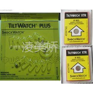 供应SHOCKWATCH多角度防倾倒标签防倾斜显示标签物流辅助器材