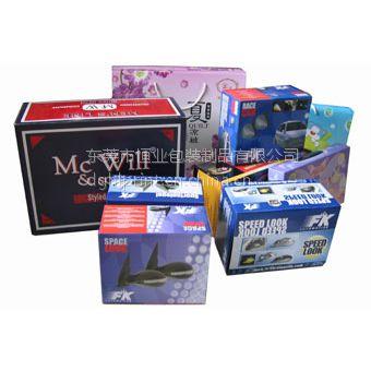 东莞供应电子产品瓦楞纸盒、自动扣抵彩盒