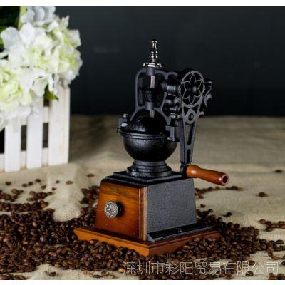 A11B 复古小型手摇 家用欧式咖啡豆研磨机手摇磨豆机 厂家批发