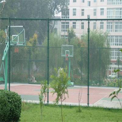 旺来菱型勾花网 冷镀锌勾花网 室外篮球场围网