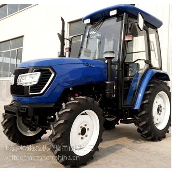 供应山东潍坊生产 潍拖牌四缸发动机四驱驱动60马力拖拉机 AOY604