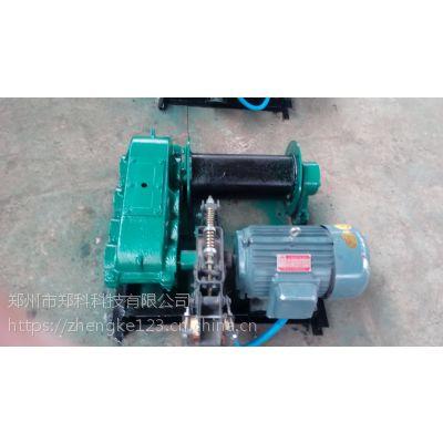 溧阳郑科0.5吨轻小型桩机配用电动卷扬机批发