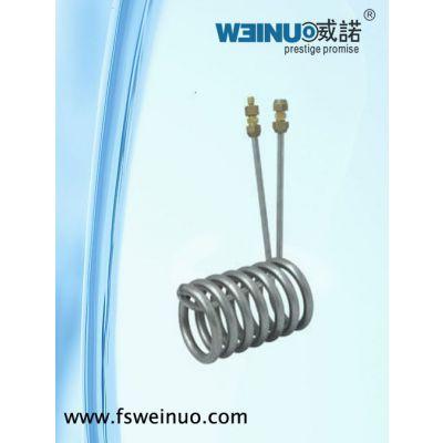 供应威诺牌 1.5匹纯钛蒸发器(浸管型)