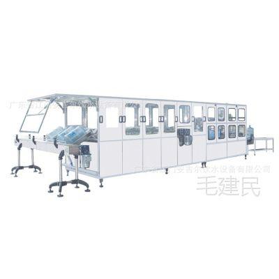 桶装水灌装机 桶装水灌装生产设备 灌装机械设备