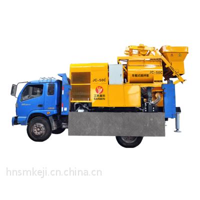 搅拌车载泵/劳动强度低的搅拌车载泵