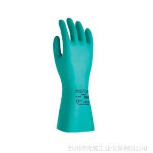 供应安思尔(ANSELL)SOL-VEX耐磨耐酸碱防滑手套