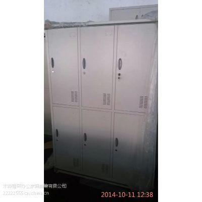 便宜文件柜 三门更衣柜 偏三门铁皮柜 资料储物柜