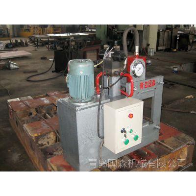 国森机械制造重竹冷压机锁具铁销弯曲矫直机