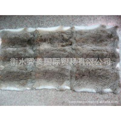 供应国产青草兔皮褥子做毛领毛条用青草兔皮褥子