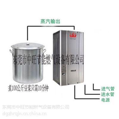 中旺30火排豆腐专用节能燃气蒸汽机