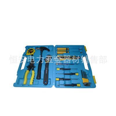 供应家用工具组合套装/五金工具套装/电力电工维修套箱包