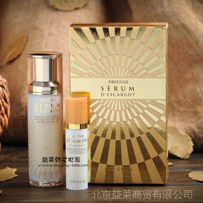 韩国It's skin伊思晶钻美肤再生蜗牛精华液+眼霜套装淡化细纹