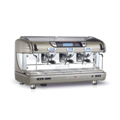 代理原装进口意大利LASPAZIALE意式咖啡机 S40三头电控半自动咖啡机